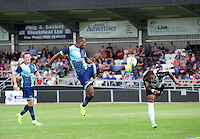 Myles Weston of Wycombe Wanderers shows good ball control during the Friendly match between Maidenhead United and Wycombe Wanderers at York Road, Maidenhead, England on 30 July 2016. Photo by Alan  Stanford PRiME Media Images.