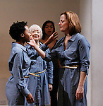 "Mirirai Sithole, Kitty Chen, Caitlin Cisco, Orlagh Cassidy star in play as The Cell presents Origin Theatre Company with the North American Premiere of ""The Hundred We Are""  at the dress rehearsal on March 16, 2016 through April 8 at the Cell Theatre on 23rd St, New York City, New York. (Photo by Sue Coflin/Max Photos)"