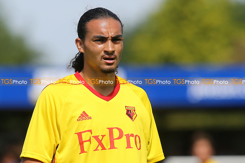 Watford trialist, Randall Williams, who was recently released by Crystal Palace during Woking vs Watford, Friendly Match Football at The Laithwaite Community Stadium on 8th July 2017