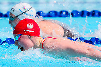 Picture by Alex Whitehead/SWpix.com - 05/04/2018 - Commonwealth Games - Swimming - Optus Aquatics Centre, Gold Coast, Australia - Laura Stephens of England competes in the Women's 100m Butterfly heats.