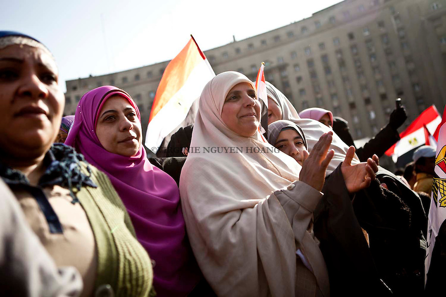 25/01/2012..Thousand of people gather in Cairo and Tahrir square to celebrate the first anniversary of the Revolution and ask the SCAF to leave the power...Des milliers d'egyptiens se sont reunis dans les rue du Caire et a Tahrir square pour celebrer les premier anniversaire de la Revolution egyptienne. Ils protestent egalement pour que le SCAF quitte le pouvoir.
