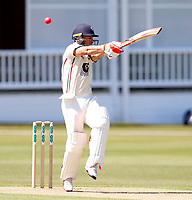 Heino Kuhn bats for kent during the County Championship Division 2 game between Kent and Middlesex at the St Lawrence Ground, Canterbury, on June 25, 2018