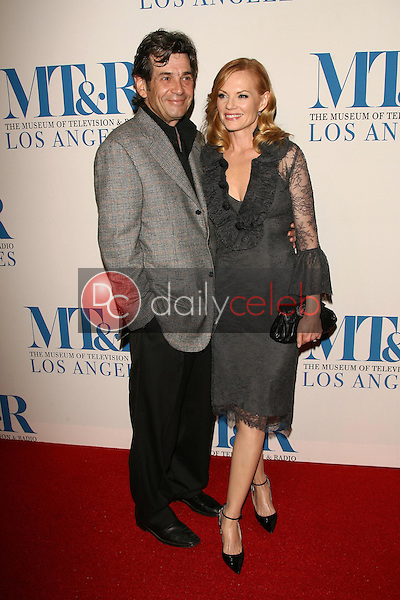 Alan Rosenberg and Marg Helgenberger<br />