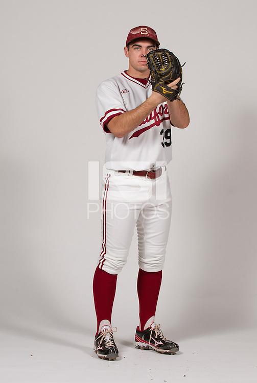 STANFORD, CA - JANUARY 13, 2016--Chris Castellanos,  of the Stanford Men's Baseball team.