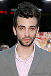 "Actor Jay Baruchel arrives at the Los Angeles Premiere Of ""Tropic Thunder"" at the Mann's Village Theater on August 11, 2008 in Los Angeles, California."