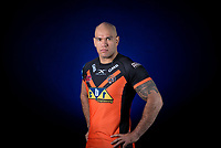 Picture by Allan McKenzie/SWpix.com - 09/01/18 - Rugby League - Super League - Castleford Media Day 2018 - A1 Football Factory, Castleford, England - Jake Webster.