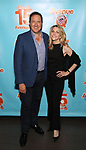 Kevin McCollum and Lynnette Perry attends the 'Avenue Q' - 15th Anniversary Performance Celebration at Novotel on July 31, 2018 in New York City.