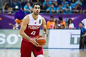 7th September 2017, Fenerbahce Arena, Istanbul, Turkey; FIBA Eurobasket Group D; Latvia versus Turkey; Point Guard Dogus Balbay of Turkey in action