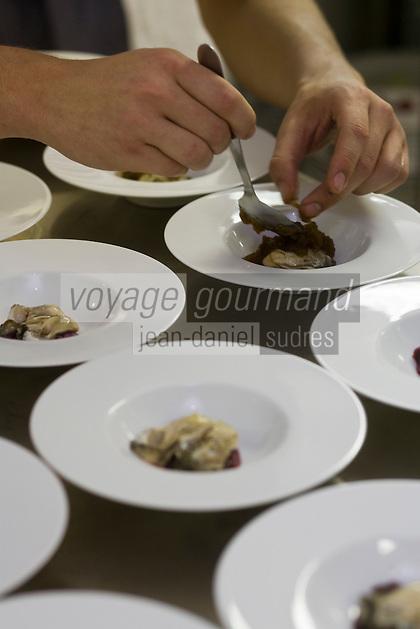 Europe/France/Rhone-Alpes/73/Savoie/Courchevel:  Restaurant:c à l'Hotel Les Airelles