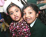 Adhi and Aishwarya at the Launch of The Fatima Girls NS Cookery Book in the Eastern Seaboard Restaurant. ..Photo NEWSFILE/Jenny Matthews.(Photo credit should read Jenny Matthews/NEWSFILE)....This Picture has been sent you under the condtions enclosed by:.Newsfile Ltd..The Studio,.Millmount Abbey,.Drogheda,.Co Meath..Ireland..Tel: +353(0)41-9871240.Fax: +353(0)41-9871260.GSM: +353(0)86-2500958.email: pictures@newsfile.ie.www.newsfile.ie.FTP: 193.120.102.198.