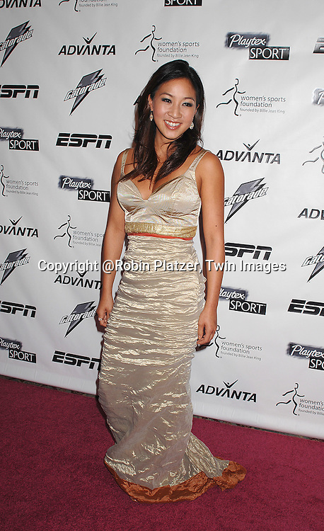 Michelle Kwan..arriving on the Playtex Sport Pink Carpet at the Women's Sports Foundation's 28th annual Salute to Women in Sports at the Waldorf Astoria Hotel on October 15, 2007. ....photo by Robin Platzer, Twin Images....212-935-0770