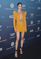 LOS ANGELES, CA - JANUARY 05: Hilary Rhoda attends Michael Muller's HEAVEN, presented by The Art of Elysium at a private venue on January 5, 2019 in Los Angeles, California.<br /> CAP/ROT/TM<br /> &copy;TM/ROT/Capital Pictures