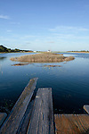 Lowcountry dock flood tide south carolina James island
