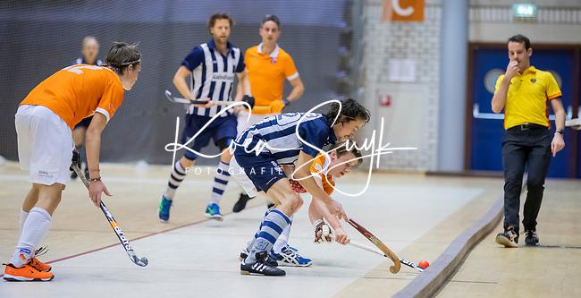 ROTTERDAM  - NK Reserve Hoofdklasse  Zaalhockey . Bloemendaal H2 - HDM H3 (4-3) .  Bloemendaal kampioen COPYRIGHT KOEN SUYK