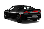 Car pictures of rear three quarter view of a 2018 Dodge Charger R/T 4 Door Sedan angular rear