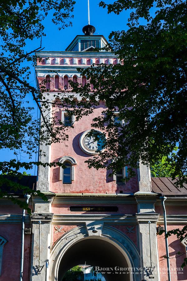 Finland, Helsinki. Suomenlinna sea fortress.
