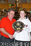 Eileen OConnor St.Marys best over all girl,