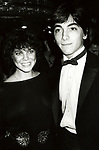 Erin Moran and Scott Baio from 'HAPPY DAYS' attend the Men's Fashion Association of America's Fifth Annual American Image Awards on October 25, 1982 at Sheraton Centre in New York City.