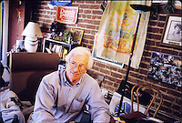 Dennis Peron was the co-author and lead proponent  of California Proposition 215 in 1996 which legalized the use of medical marijuana. Photographed at the San Francisco Cannabis Buyers Club in San Francisco