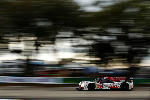 16-19 March, 2016, Sebring, Florida, USA<br /> , 60, Honda HPD, Ligier JS P2, P, John Pew, Oswaldo Negri, Jr., Olivier Pla<br /> ©2016, Michael L. Levitt<br /> LAT Photo USA