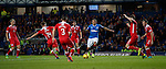 James Tavernier draws in six Queens defenders around him