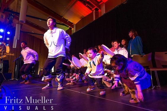 Adaka Cultural Festival 2016, Whitehorse, Yukon, Canada, Yukon First Nation Culture and Tourism Association, Kwanlin Dun Cultural Centre, Tuktoyaktuk Drummers
