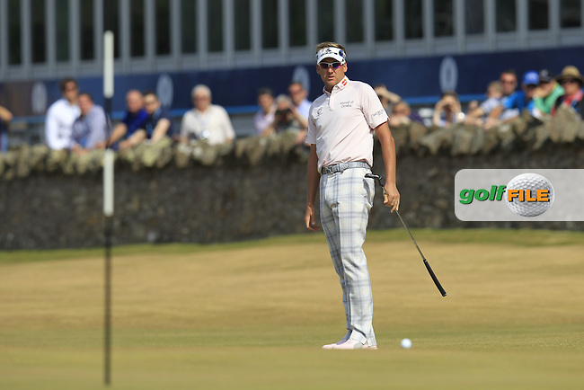 Ian POULTER (ENG) during round 3 of  The 142th Open Championship Muirfield, Gullane, East Lothian, Scotland 20/7/2013<br /> Picture Eoin Clarke www.golffile.ie: