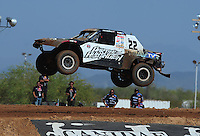 Apr 16, 2011; Surprise, AZ USA; LOORRS driver Josh Merrell during round 3 at Speedworld Off Road Park. Mandatory Credit: Mark J. Rebilas-.