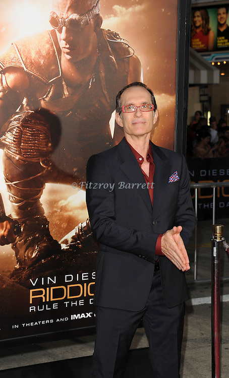 David Twohy at the RIDDICK World Premiere, held at the Regency Village Theater Los Angeles, Ca. August 28, 2013