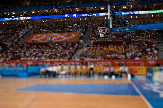 Women's Basketball, Quarterfinal, Australia vs Czech Republic, Olympic Basketball Gymnasium, Summer Olympics, Beijing, China, August 19, 2008