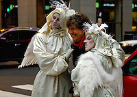 Seelie Player Mimes Chicago Illinois 12-18-12