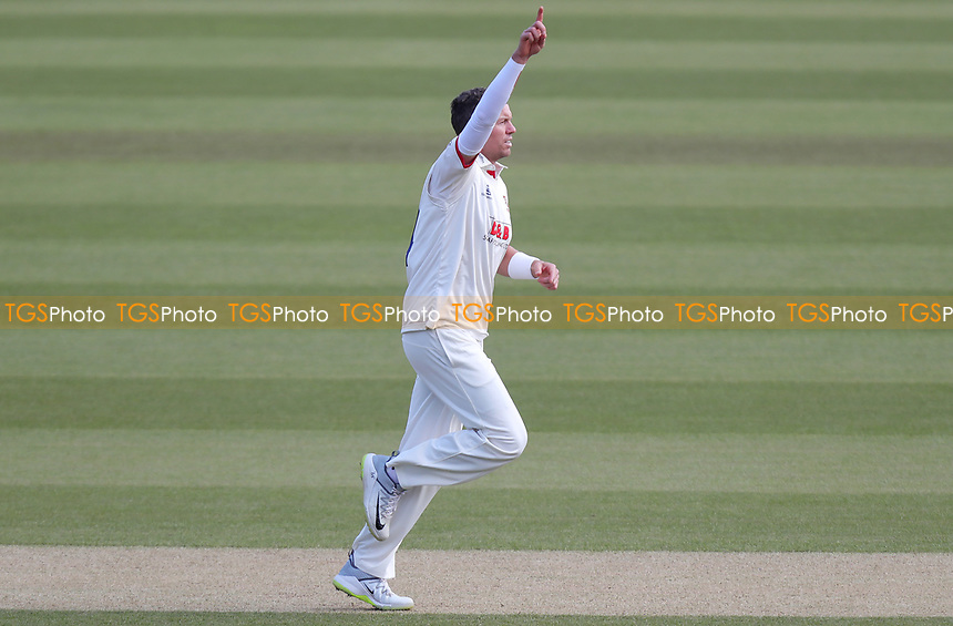Peter Siddle of Essex celebrates taking the wicket of Mark Stonemanduring Surrey CCC vs Essex CCC, Specsavers County Championship Division 1 Cricket at the Kia Oval on 14th April 2019