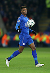 Leicester's Demarai Gray in action during the Champions League group B match at the King Power Stadium, Leicester. Picture date November 22nd, 2016 Pic David Klein/Sportimage