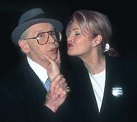 Milton Berle and wife Lorna 1992<br /> Photo By John Barrett/PHOTOlink