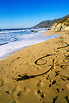 California: Monterey area.  Scenic of Garrapata Beach in Big Sur.  Photo #: camon2102..Photo copyright Lee Foster, 510/549-2202, lee@fostertravel.com, www.fostertravel.com