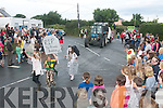 The parade through Castlegregory village last Sunday at the Finish of this year's summer festival