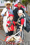 FANCY DRESS: Maharees Pirates, Billy the Kid and Vampires were the order of the day during the fancy dress competition at the Castlegregory Summer festival. Pictured front l-r: Bronagh and Tadgh O'Connor. Back l-r: Man-e and Joshua Kerr.   Copyright Kerry's Eye 2008