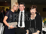 Liam and Diane Rogers and Betty Mahon pictured at the GAA dinner dance in the Boyne Valley hotel. Photo:Colin Bell/pressphotos.ie