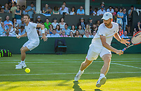 London, England, 5 th July, 2017, Tennis,  Wimbledon, Men's doubles Wesley Koolhof (NED) (L) / Matwe Middelkoop (NED)<br /> Photo: Henk Koster/tennisimages.com