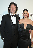 09 February 2020 - West Hollywood, California - JC Chasez, Jennifer Huyoung. 28th Annual Elton John Academy Awards Viewing Party held at West Hollywood Park. Photo Credit: FS/AdMedia