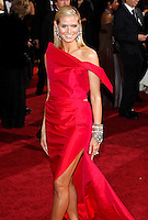 Heidi Klum arrives at the 81st Annual Academy Awards held at the Kodak Theatre in Hollywood, Los Angeles, California on 22 February 2009
