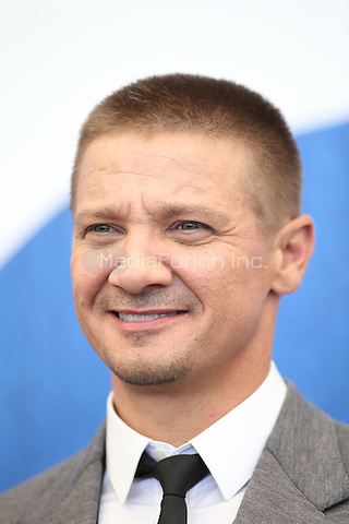 Jeremy Renner attends a press conference for 'Arrival' during the 73rd Venice Film Festival at Palazzo del Casino on September 1, 2016 in Venice, Italy.<br /> CAP/GOL<br /> &copy;GOL/Capital Pictures/MediaPunch ***NORTH AND SOUTH AMERICA ONLY***