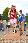 Sarah Osterloh Fossa competing in the long jump at the Denny County Community Games in An Riocht Castleisland on Sunday       Copyright Kerry's Eye 2008