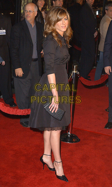 JENNIFER ANISTON  .Universal Pictures World Premiere of Along Came Polly held at the Grauman's Chinese Theater .*UK Sales Only*.12 January 2004.full length, full-length, little black dress, pointy shoes, stilettos, heels.www.capitalpictures.com.sales@capitalpictures.com.©Capital Pictures.