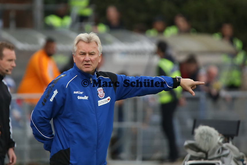 Trainer Benno Möhlmann U(FSV( - SV Darmstadt 98 vs. FSV Frankfurt, Stadion am Boellenfalltor