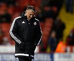 Dejected Nigel Adkins manager of Sheffield Utd - English League One - Sheffield Utd vs Burton Albion - Bramall Lane Stadium - Sheffield - England - 1st March 2016 - Pic Simon Bellis/Sportimage