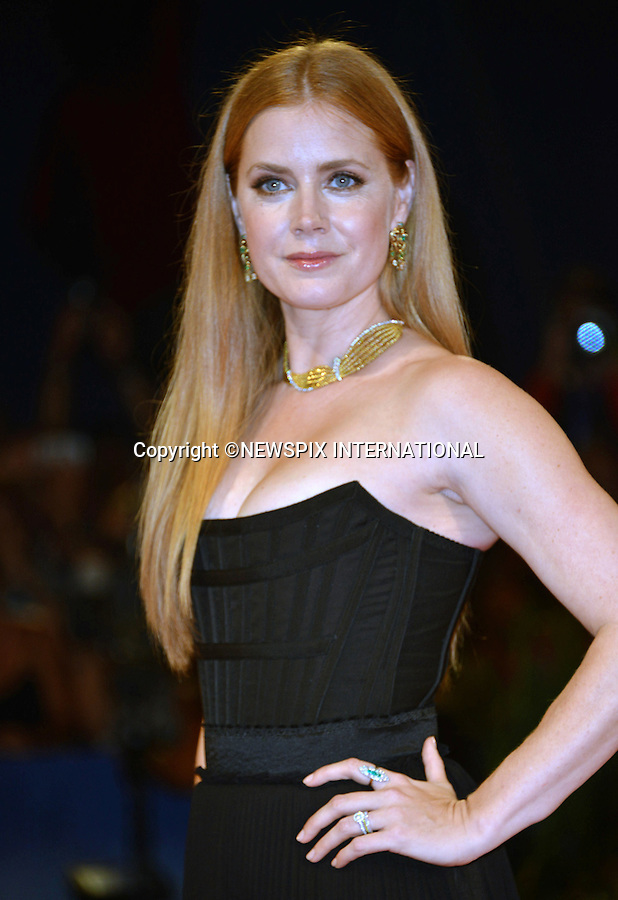 01.08.2016; Venice, Italy: AMY ADAMS<br /> atttends &ldquo;The Light Between Oceans&rdquo; screening at the 73rd Venice Film Festival.<br /> Mandatory Credit Photo: &copy;NEWSPIX INTERNATIONAL<br /> <br /> PHOTO CREDIT MANDATORY!!: NEWSPIX INTERNATIONAL(Failure to credit will incur a surcharge of 100% of reproduction fees)<br /> <br /> IMMEDIATE CONFIRMATION OF USAGE REQUIRED:<br /> Newspix International, 31 Chinnery Hill, Bishop's Stortford, ENGLAND CM23 3PS<br /> Tel:+441279 324672  ; Fax: +441279656877<br /> Mobile:  0777568 1153<br /> e-mail: info@newspixinternational.co.uk<br /> Please refer to usage terms. All Fees Payable To Newspix International