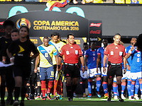 East Rutherford, NJ - Sunday June 12, 2016:  during a Copa America Centenario Group B match between Ecuador (ECU) and Haiti (HAI) at Met Life Stadium.
