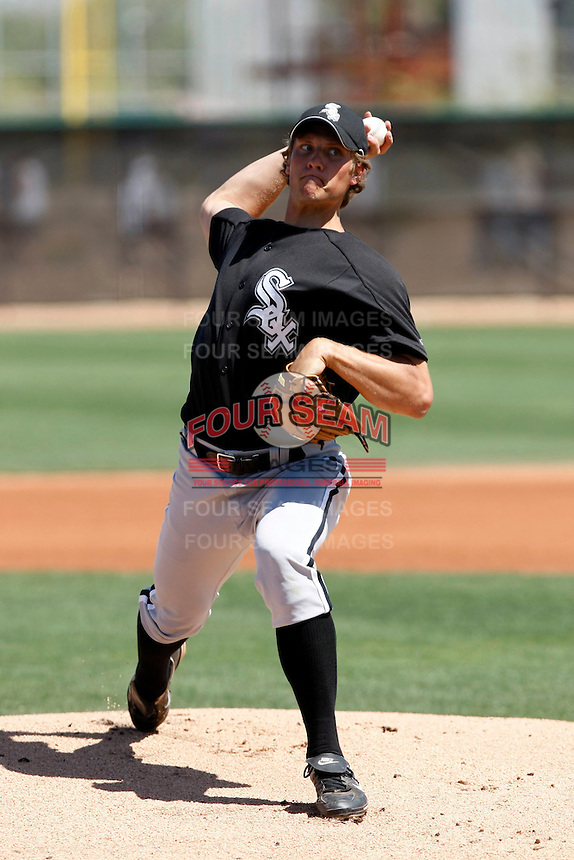 John Ely  -  Chicago White Sox - 2009 spring training.Photo by:  Bill Mitchell/Four Seam Images