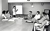 Personnel training, Queen's Medical Centre, Nottingham UK 1990